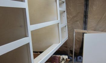 Base cabinet painting