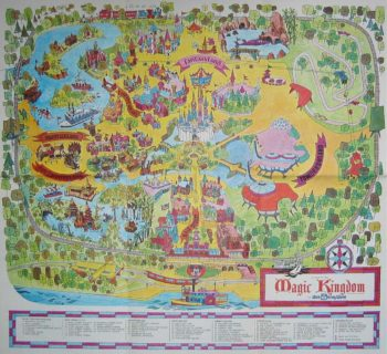 Disney Map -Old