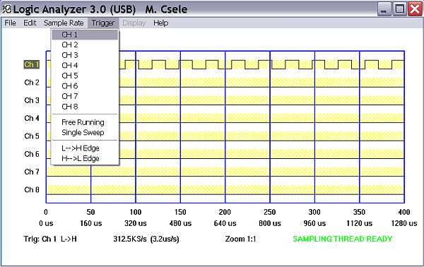 Logic Analyzer IV (USB) | Professor Mark Csele