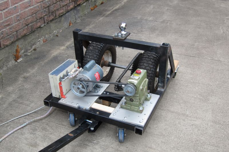 Electric Trailer Dolly >> Motorized Trailer Dolly Professor Mark Csele