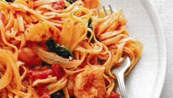 Shrimp Pasta Diavolo