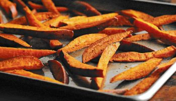 Brown Sugar-cinnamon Sweet Potato Fries
